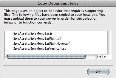 copy dependent files