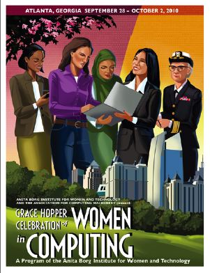 Grace Hopper 2010 Poster