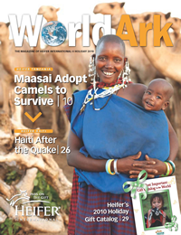World Ark 2010 Cover Holiday Issue