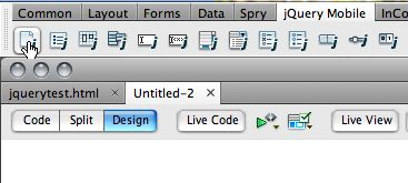 jQuery New Page icon