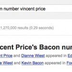 vincent price bacon number