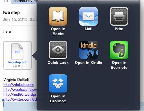 Mac Mail Options