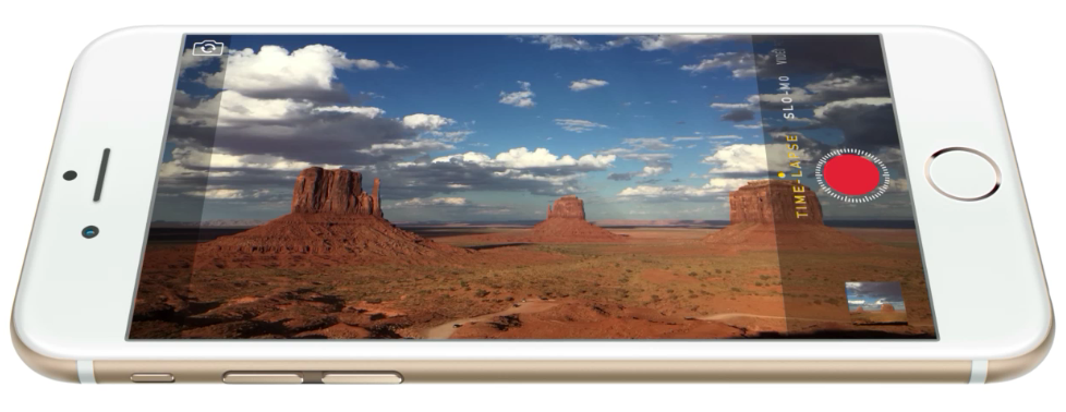 An iPhone 6. Image from Apple.com