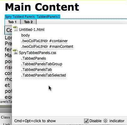 code navigator dialog